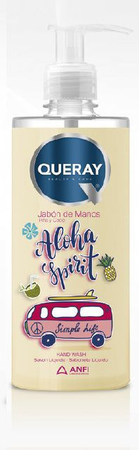 jabon de manos piña y coco 500ml queray