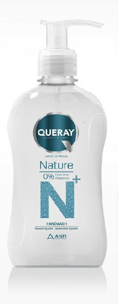 jabon de manos nature 0% 500ml queray