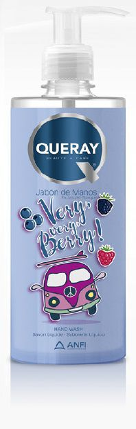 jabon de manos frutas del bosque 500ml queray