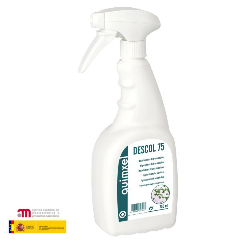 desinfectante hidroalcoholico quimxel 750ml